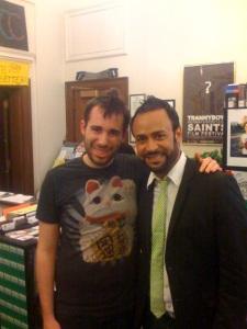Me with Nick Verreos!